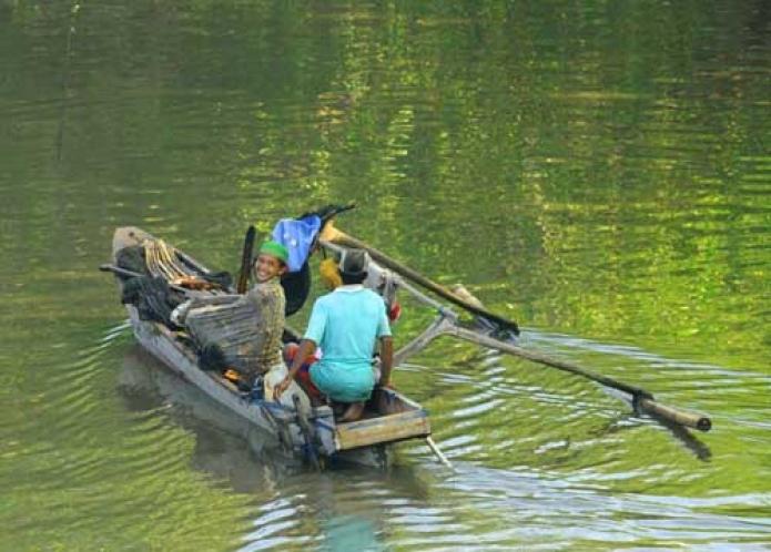 Bahagianya Nelayan.....